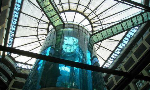 Acvariul Aquadom din Berlin