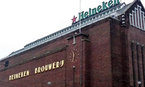 Beraria Heineken Experience din Amsterdam