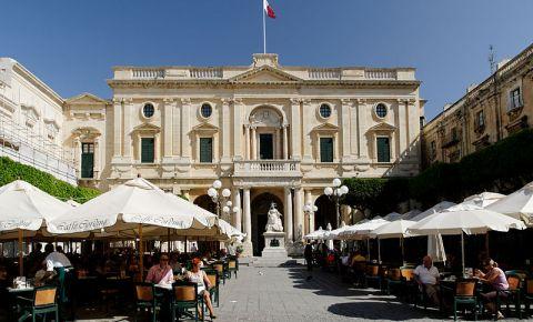 Biblioteca Nationala Malteza din Valletta