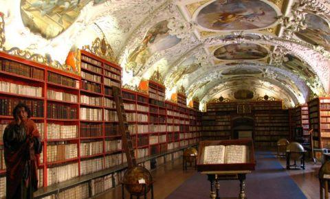Biblioteca Strahov din Praga