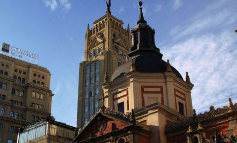 Biserica Las Calatravas din Madrid
