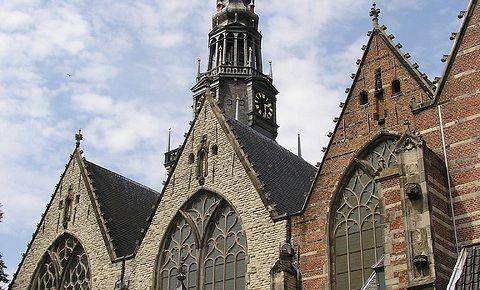 Biserica Oude Kerk din Amsterdam