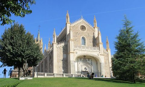 Biserica San Jeronimo El Real din Madrid