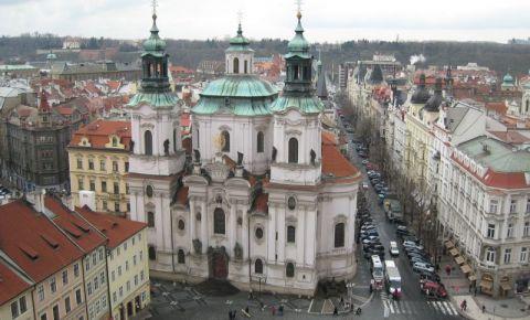 Biserica Sfantul Nicolae din Praga (panorama)