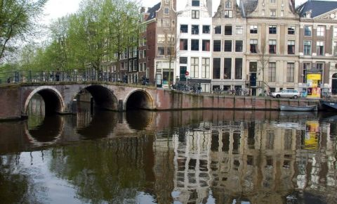 Canalul Herengracht din Amsterdam