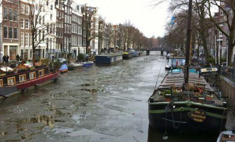 Canalul Jordaan din Amsterdam