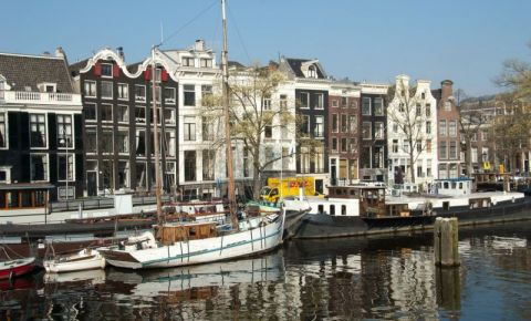 Canalul Keizersgracht din Amsterdam