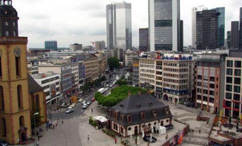 Cartierul Hauptwache din Frankfurt