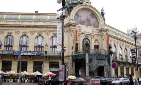 Casa Municipala din Praga