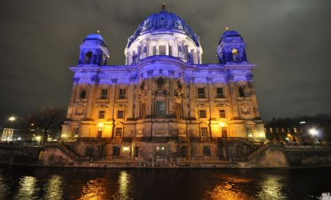 Catedrala din Berlin (noaptea)