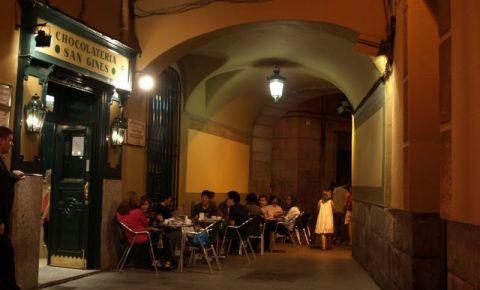 Ciocolateria San Gines din Madrid