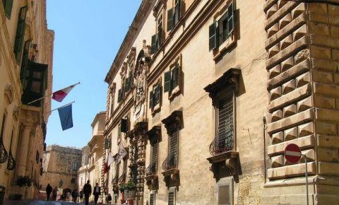 Cladirea Auberge d`Italie din Valletta