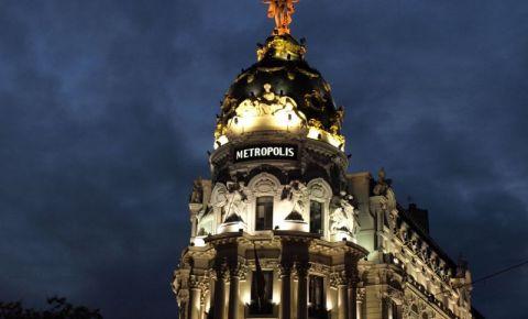 Cladirea Metropolis din Madrid