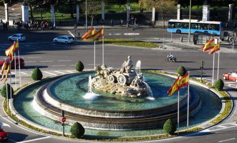 Fantana Zeitei Cybele din Madrid