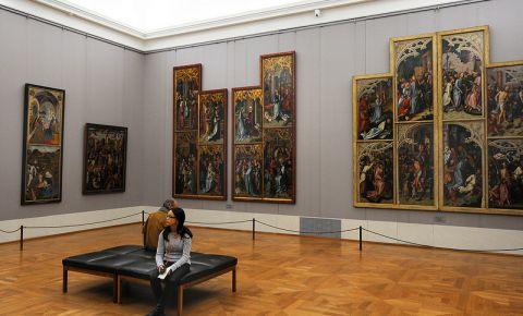 Galeria de Arta Vechea Pinacoteca din Munchen