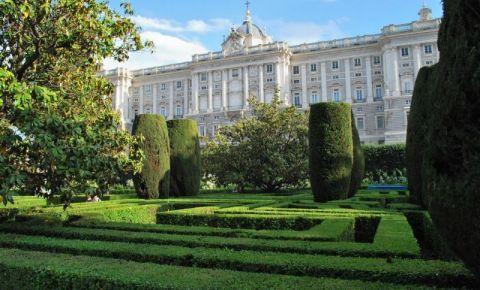 Gradinile Sabatini din Madrid