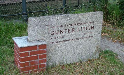 Memorialul Guenter Litfin din Berlin