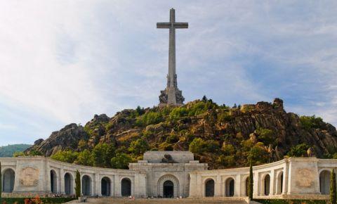 Monumentul Valle de los Caidos din Madrid
