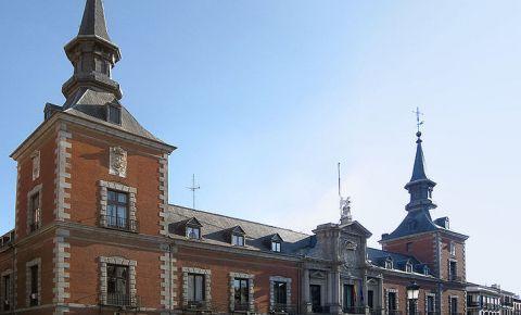 Palatul Santa Cruz din Madrid
