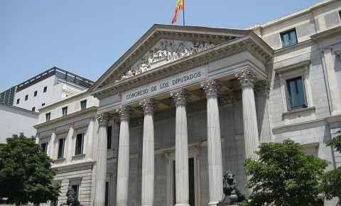 Parlamentul Spaniei din Madrid