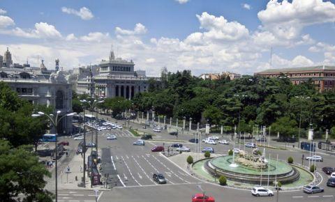 Piata Cibeles din Madrid