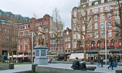 Piata Rembrandtplein din Amsterdam