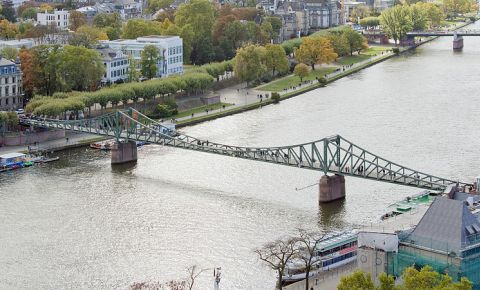 Podul de Fier din Frankfurt