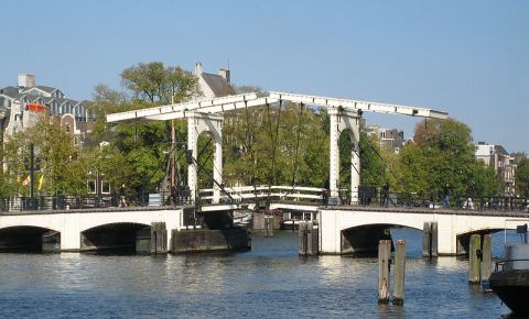 Podul Magere Brug din Amsterdam
