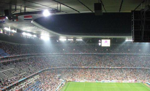 Stadionul Allianz Arena din Munchen (interior)