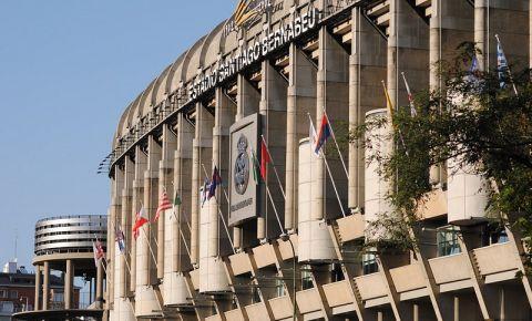 Stadionul Santiago Bernabeu din Madrid