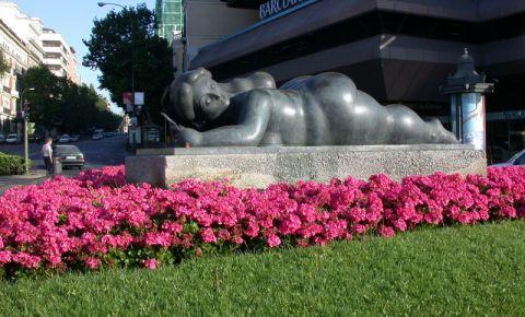 Statuile lui Botero din Madrid