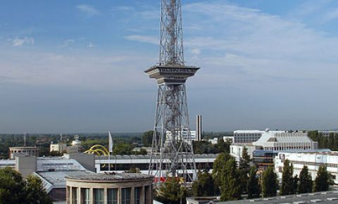 Turnul Funkturm din Berlin