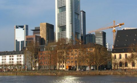 Turnul Maintower din Frankfurt