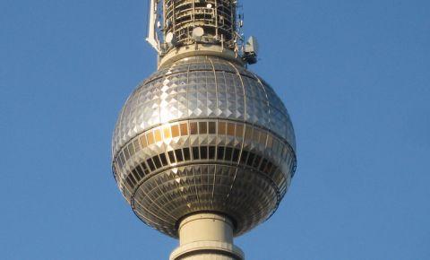 Turnul Televiziunii din Berlin (detaliu)