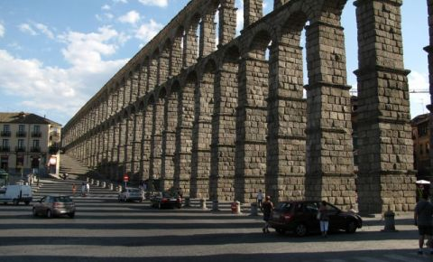Viaductul Segovia din Madrid