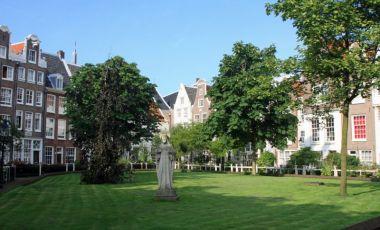 Manastirea Begijnhof din Amsterdam