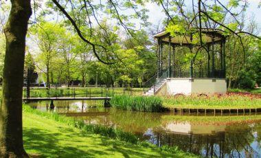 Parcul Vondel din Amsterdam