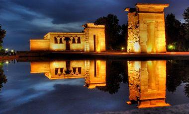 Templul Debod din Madrid
