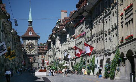 Aleea Kramgasse din Berna