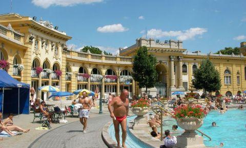 Baile Termale din Budapesta (interior)