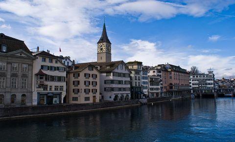 Biserica Sfantul Petru din Zurich (panorama)