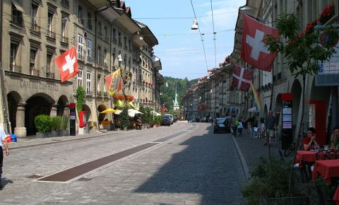 Bulevardul Gerechtigkeitsgasse din Berna