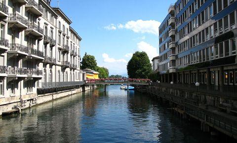 Canalul Schanzengraben din Zurich
