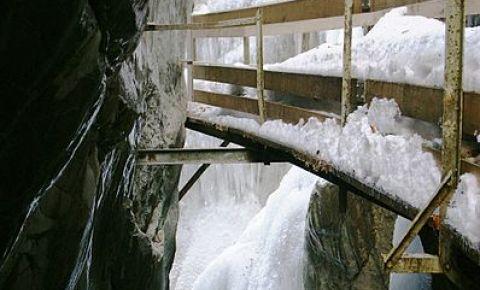 Canionul Rappenloch din Dornbirn