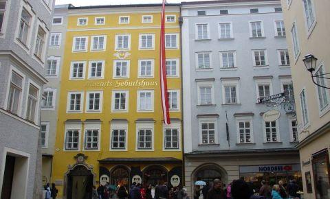 Casa Natala a lui Mozart din Salzburg