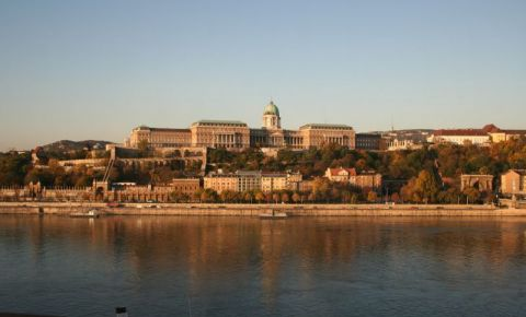 Castelul Buda din Budapesta (panorama)
