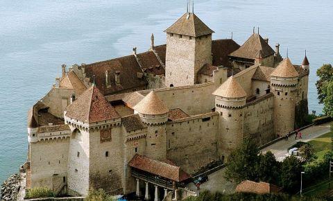Castelul Chillon din Montreux
