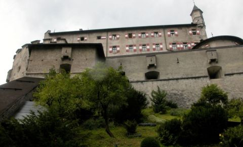 Castelul Hohenwerfen din Werfen