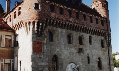 Castelul Saint Maire din Lausanne
