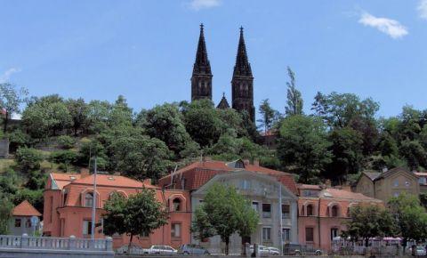 Castelul si Cimitirul Vysehrad din Praga